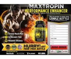Maxtropin Review: Boost Muscles, Power And Energy Level!